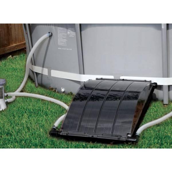 Panneau solaire smartpool solar arc pour piscines hors sol for Chauffage piscine 12v