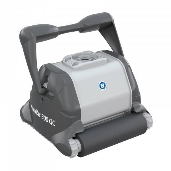 Aquavac 300 qc quick clean mousse sans chariot robot for Robot piscine hayward