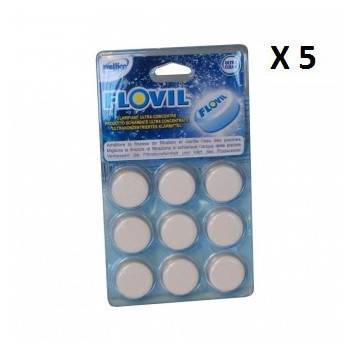 Lot de 5 Clarifiant ultra-concentré Flovil