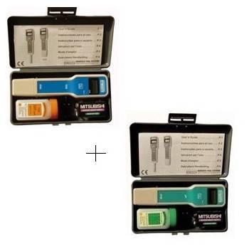 Pack testeur sel + pH