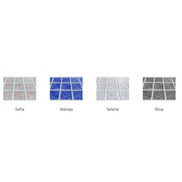 PVC armé ALKORPLAN Ceramics rouleau de 34,65 m2  - Largeur 1,65m