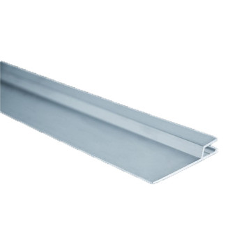 Rail Hung horizontal aluminium - barre de 2 mètres par 50 mm ( construction)