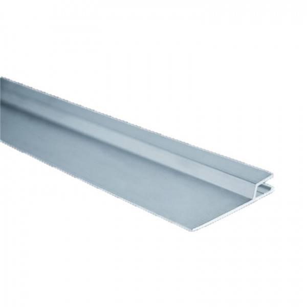 Rail Hung horizontal aluminium - barre de 2 mètres par 50 mm ( construction)