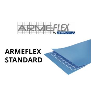 PVC armé ARMEFLEX Standard Uni rouleau de 41,25 m2  - Largeur 1,65m