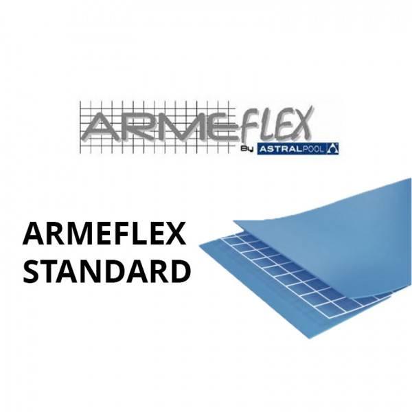 PVC armé ARMEFLEX Standard Uni rouleau de 51,25 m2 - Largeur 2,05m