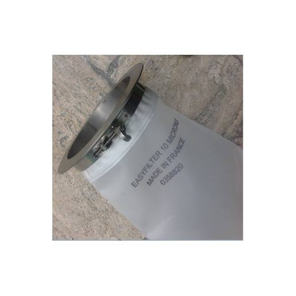 Lot de 3 Poches filtrantes piscine compatible Desjoyaux® 5 microns 10 microns et 20 microns + bague de maintient