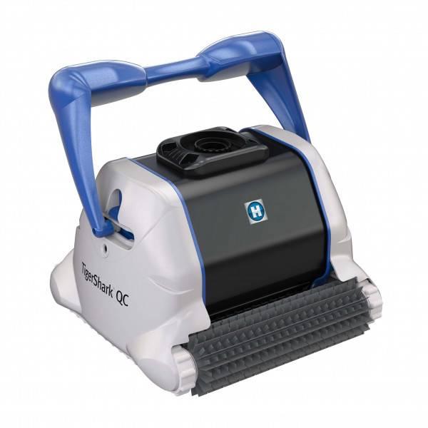 Robot piscine Hayward Tigershark Quick Clean picots sans chariot - Version 2020