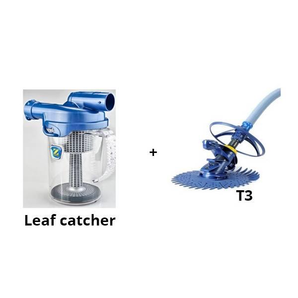 Pack robot zodiac T3 + Pièges à feuilles cyclonic leaf catcher