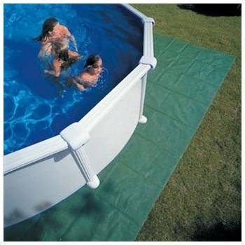 Tapis de sol polyéthylène pour piscine diam 400/350