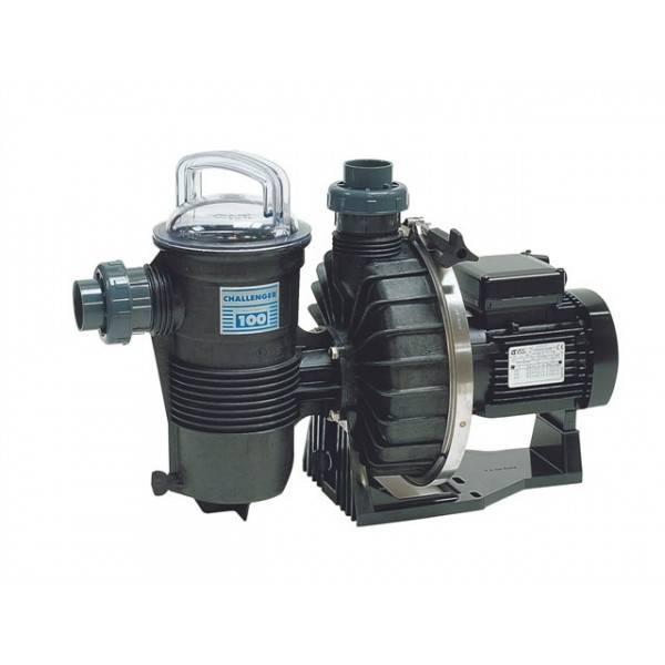 Pompe filtration piscine CHALLENGER 3/4 CV TRI 11 m3h