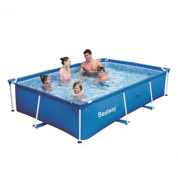 Piscine hors sol tubulaire Splash Frame Pools rectangulaire 239 x 150 h 58