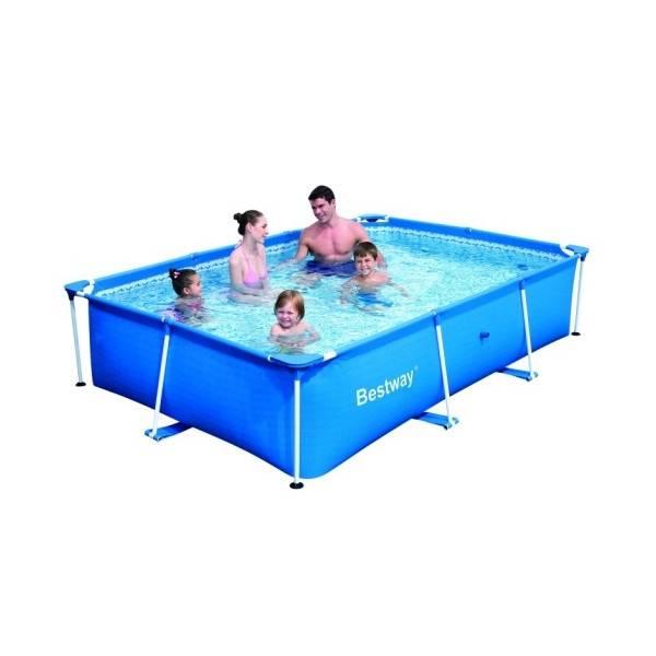 Piscine hors sol tubulaire Deluxe Splash Frame Pools rectangulaire 259 x 170 h 61