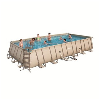 Kit piscine hors sol Steel Pro Frame Pools Rectangulaire 732 x 366 h 132