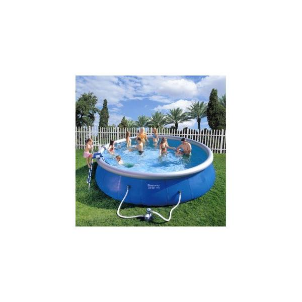 Kit piscine gonflable ronde diam 549h 122 piscine for Piscine gonflable ronde