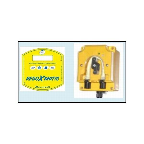 Régulateur de Chlore liquide ou Brome REDOXMATIC AOA Débit Fixe