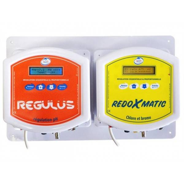 Automate de régulation pH/Redox DOSOMAT Débit fixe AOA