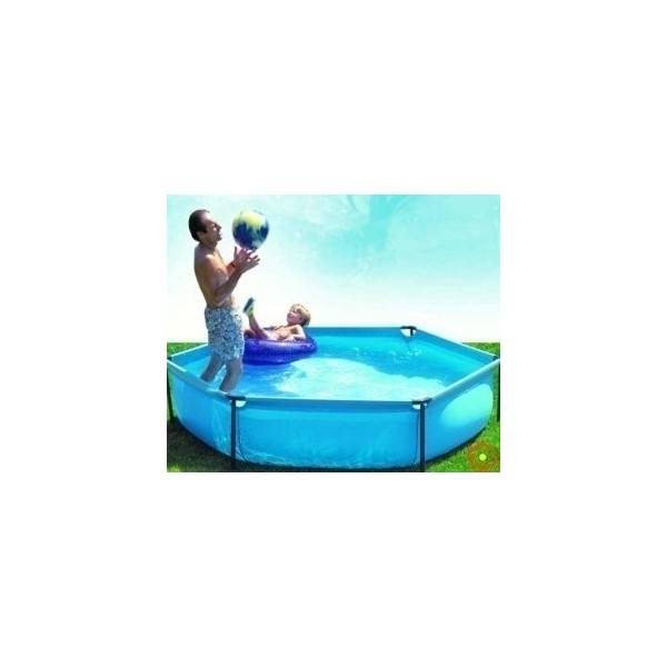 Piscine Jet Pool Junior Hexagonale diam 215 h 45