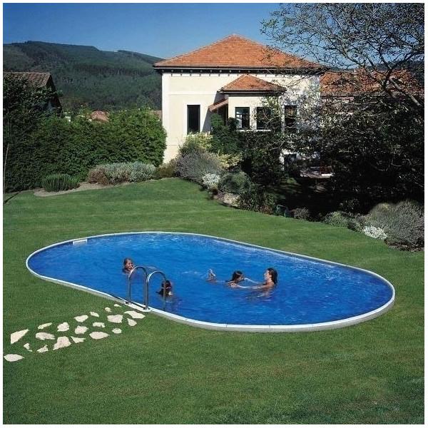 Kit Piscine acier enterrée Star Pool Ovale  915 x 470 h 150
