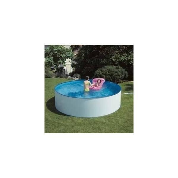 Piscine hors sol ronde lanzarote pas cher id piscine for Piscine acier ronde pas cher