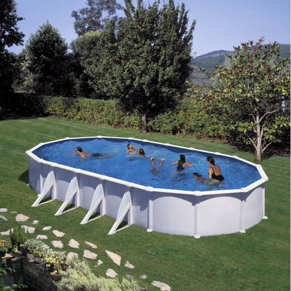 Piscine Hors Sol DREAM POOL Ovale ATLANTIS 915 x 470 h 132
