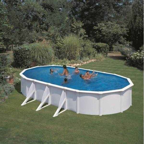 Piscine Hors Sol DREAM POOL Ovale ATLANTIS 810 x 470 h 132