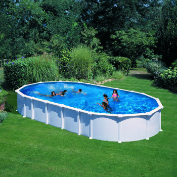 Piscine Hors Sol DREAM POOL Ovale HAITI 810 x 470 h 132