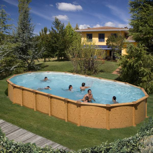 Piscine Hors Sol DREAM POOL Ovale AMAZONIA 730 x 375 h 132
