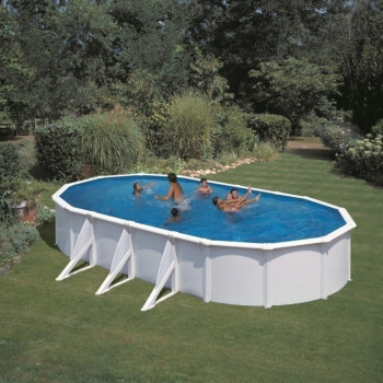 Piscine Hors Sol DREAM POOL Ovale ATLANTIS 730 x 375 h 132