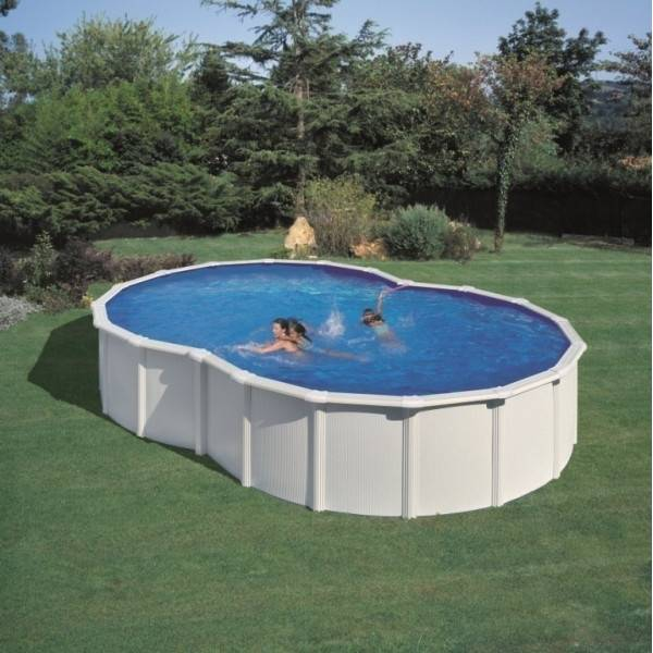 Piscine Hors Sol DREAM POOL en Huit VARADERO 710 x 475 h 120