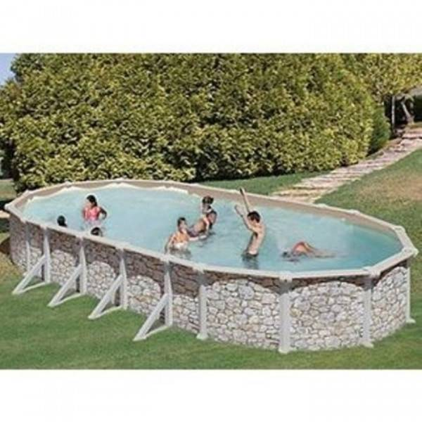 Piscine Hors sol DREAM POOL Ovale SKYATHOS 610 x 375 h 132