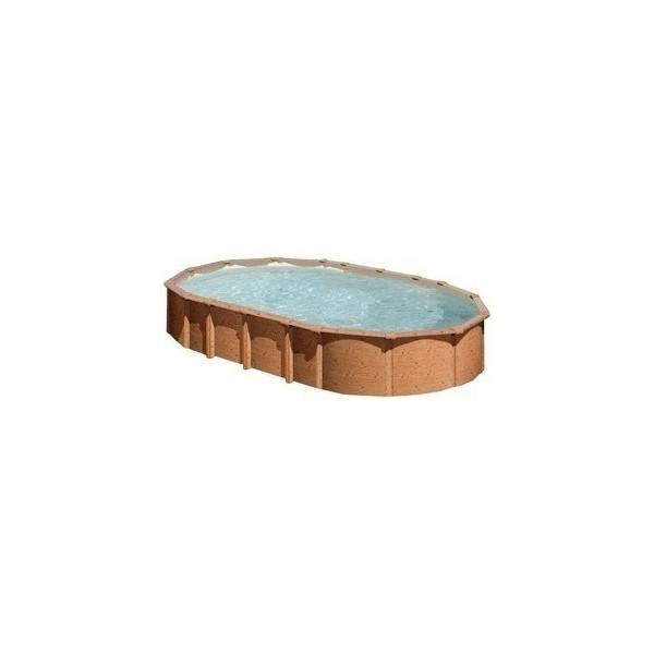 Piscine Hors Sol DREAM POOL Ovale AMAZONIA 610 x 375 h 132