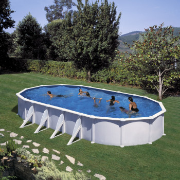 Piscine Hors Sol DREAM POOL Ovale ATLANTIS 1000 X 550 h 132