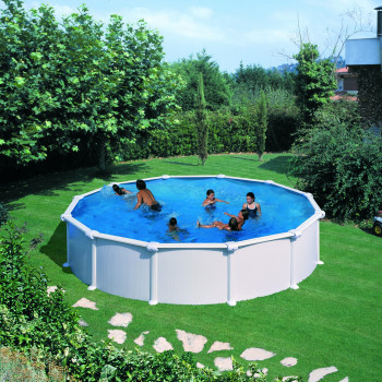 Piscine Hors Sol DREAM POOL Ronde ATLANTIS diam 550 h 132