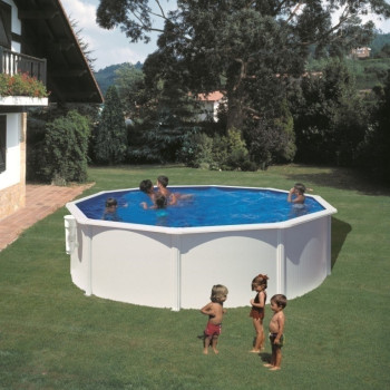 Piscine Hors Sol DREAM POOL Ronde BORA BORA diam 460 h 120