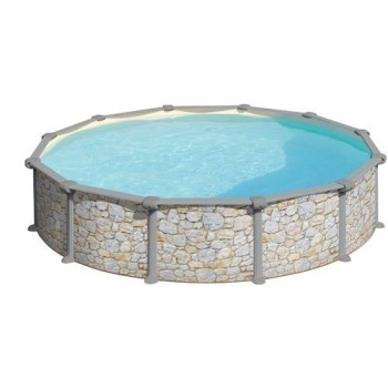 Piscine Hors Sol DREAM POOL Ronde SKYATHOS diam 350 h 132