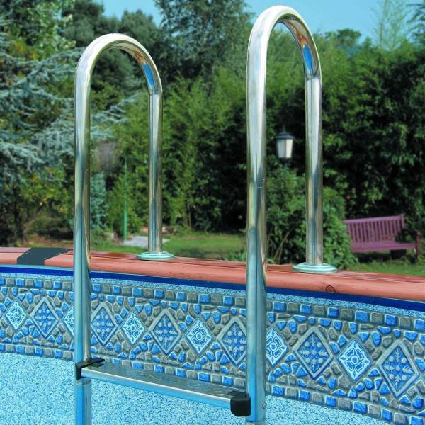 Piscine Hors sol NATURE POOL Ovale HAWAÏ 640 X 425 h 132