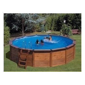 Piscine Hors sol NATURE POOL Ronde HAWAÏ diam Ext 500 h 132