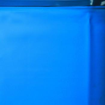 Liner 0.20 bleu overlap piscine ronde D 450 h 90
