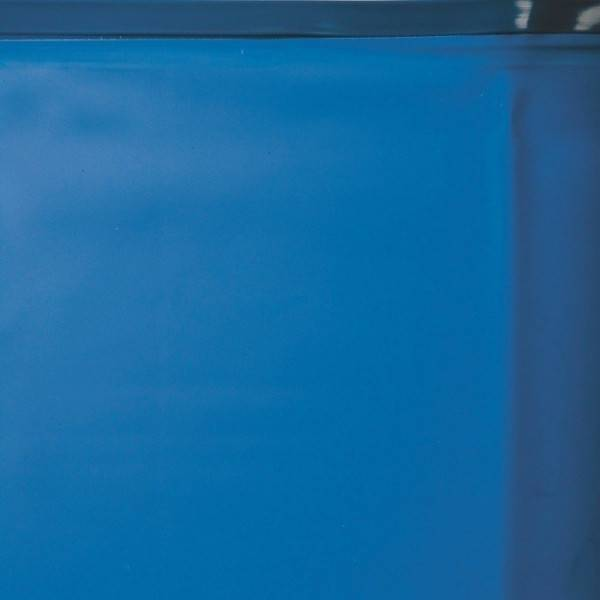 Liner 0.40 bleu avec rail d'accroche piscine ovale 500 x 300 h 120