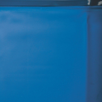 Liner 0.40 bleu avec rail d'accroche piscine ronde D 350 h 132