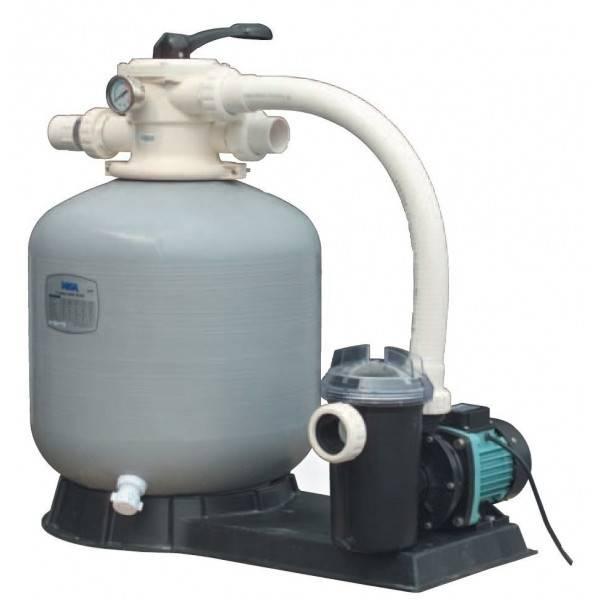 Platine de filtration à sable Polyester Méga Pool FSF400 6 m3/h