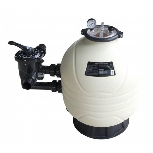 Filtre à sable Mega+ MFS17 vanne side 7.5 m3/h