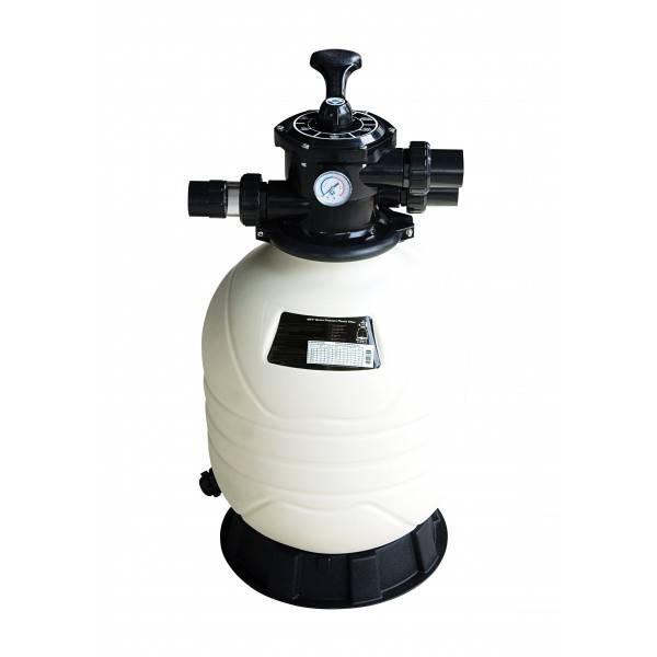 Filtre à sable Mega+ MFV17 vanne top 7.5 m3/h