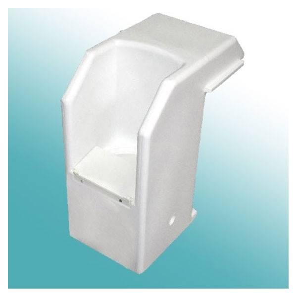 Bloc Skimmer PVC sans éclairage WATER-CLIP (ex Cristaline)