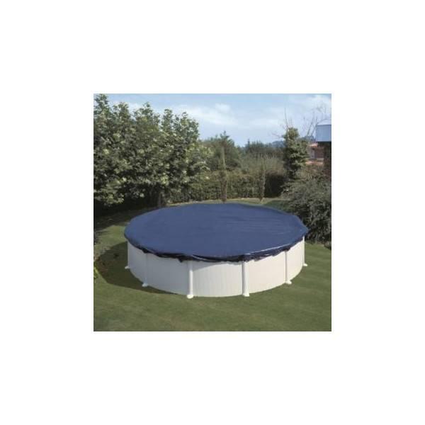 Bâche couverture d'hivernage Gré ronde diamètre 6,40 m