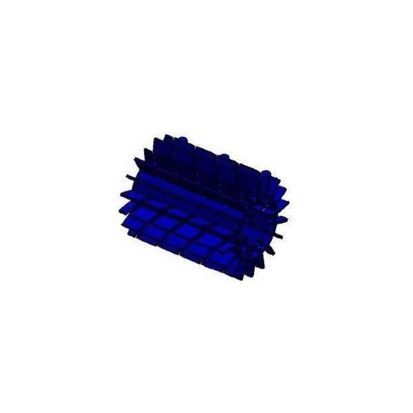 Pack Filtre gros et Brosses Robot Zodiac Vortex 4