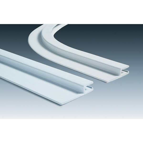 Rail hung horizontal pvc l h 50mm id piscine for Pose de liner de piscine