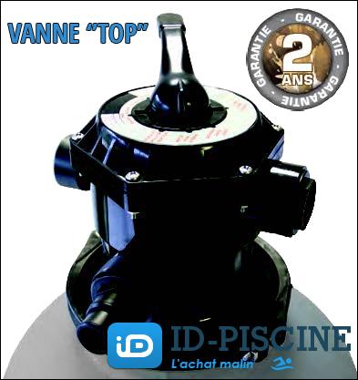 Vanne top de la platine de filtration Sun Pro Line 6,5 m3/h