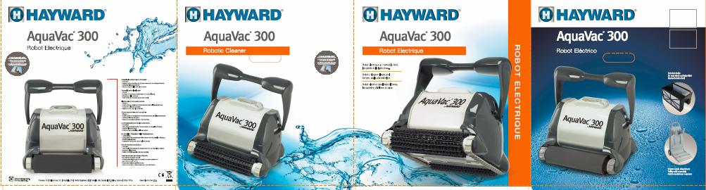 Bannière Hayward AquaVac 300