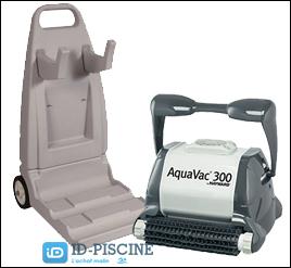 Découvrez le modèle Hayward AquaVac picots pour piscines avec liners.